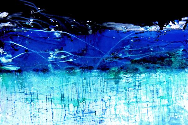 Zeitzone blau IV